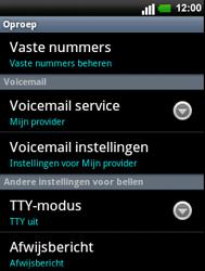 LG C660 Optimus Pro - Voicemail - handmatig instellen - Stap 5