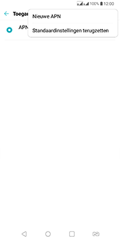 LG Q7 - Internet - Handmatig instellen - Stap 9