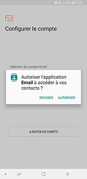 Samsung Galaxy A7 2018 - E-mails - Ajouter ou modifier un compte e-mail - Étape 5