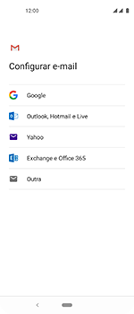 Motorola One Vision - Email - Como configurar seu celular para receber e enviar e-mails - Etapa 7
