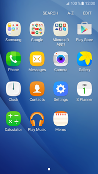 Samsung Galaxy J7 (2016) (J710) - Applications - Downloading applications - Step 3