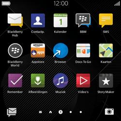 BlackBerry Classic - E-mail - Hoe te versturen - Stap 3