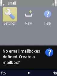 Nokia N86 - E-mail - Manual configuration - Step 5