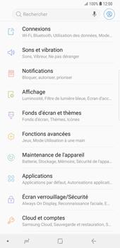 Samsung Galaxy S9 Plus - Internet et connexion - Partager votre connexion en Wi-Fi - Étape 4