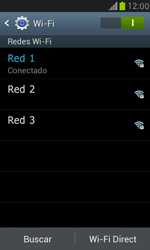 Samsung Galaxy S3 Mini - WiFi - Conectarse a una red WiFi - Paso 8