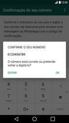 LG G5 - Aplicações - Como configurar o WhatsApp -  10