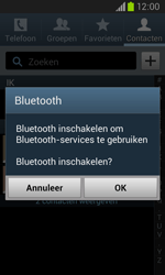 Samsung I8260 Galaxy Core - Contactgegevens overzetten - delen via Bluetooth - Stap 9