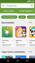Motorola Moto G (3ª Geração) - Aplicativos - Como baixar aplicativos - Etapa 4