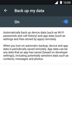 Nokia 5 - Device maintenance - Create a backup of your data - Step 7