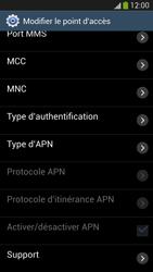 Samsung I9505 Galaxy S IV LTE - Internet - Configuration manuelle - Étape 13