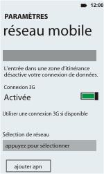 HTC C110e Radar - Réseau - utilisation à l'étranger - Étape 11