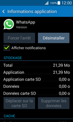 Samsung Galaxy Ace 4 - Applications - Supprimer une application - Étape 6