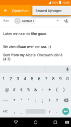 Alcatel Idol 3 (4.7) (OT-6039Y) - E-mail - Bericht met attachment versturen - Stap 11