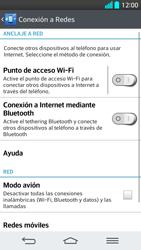 LG G2 - Red - Seleccionar el tipo de red - Paso 5