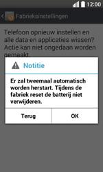 LG Optimus L70 (LG-D320n) - Instellingen aanpassen - Fabrieksinstellingen terugzetten - Stap 9