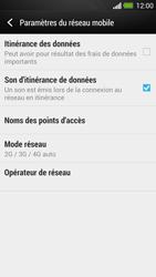 HTC One - Réseau - utilisation à l'étranger - Étape 8