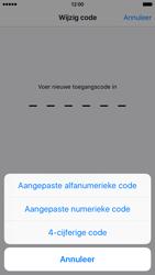 Apple iPhone 6 met iOS 9 (Model A1586) - Beveiliging en ouderlijk toezicht - Toegangscode instellen - Stap 8