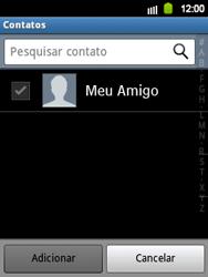 Samsung Galaxy Y - Mensagens - Como criar e enviar mensagens multimídia (MMS) - Etapa 6