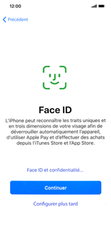 Apple iPhone XS Max - Premiers pas - Configuration de l