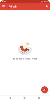 Sony Xperia XZ3 - E-mail - e-mail instellen (gmail) - Stap 14