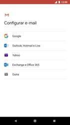Google Pixel 2 - Email - Como configurar seu celular para receber e enviar e-mails - Etapa 7