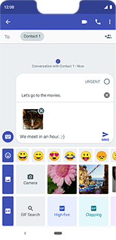 Google Pixel 3XL - MMS - Sending a picture message - Step 16