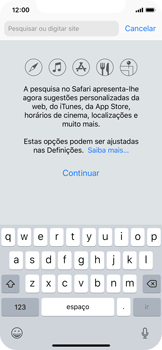 Apple iPhone X - Dados - Utilizar o web browser -  4