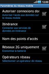 Samsung Galaxy Ace - Internet et connexion - Désactiver la connexion Internet - Étape 6
