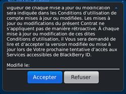 BlackBerry 9720 Bold - BlackBerry activation - BlackBerry ID activation - Étape 8