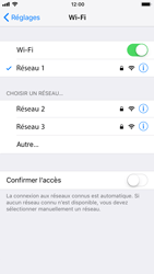 Apple iPhone 6 - iOS 11 - Wifi - configuration manuelle - Étape 6