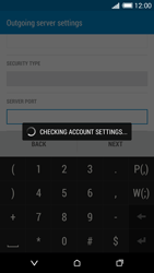 HTC Desire 816 - E-mail - Manual configuration - Step 17