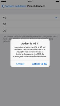 Apple iPhone 6s Plus - Internet et connexion - Activer la 4G - Étape 6
