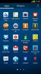 Samsung Galaxy S III - Mensagens - Como configurar seu celular para mensagens multimídia (MMS) - Etapa 3