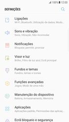 Samsung Galaxy S6 Edge - Android Nougat - Wi-Fi - Como ligar a uma rede Wi-Fi -  4
