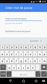 Sony Xperia L1 - Applications - Créer un compte - Étape 12