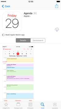 Apple Apple iPhone 6 Plus iOS 10 - iOS features - Verwijder en herstel standaard iOS-apps - Stap 12