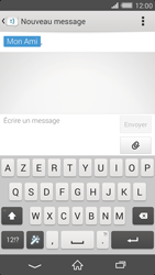 Sony Xperia Z2 - Contact, Appels, SMS/MMS - Envoyer un SMS - Étape 7