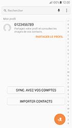Samsung Galaxy A5 (2017) (A520) - Contact, Appels, SMS/MMS - Ajouter un contact - Étape 4