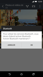 HTC One M9 - Photos, vidéos, musique - Envoyer une photo via Bluetooth - Étape 12