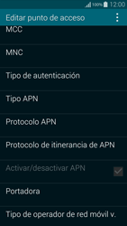 Samsung G850F Galaxy Alpha - Internet - Configurar Internet - Paso 12
