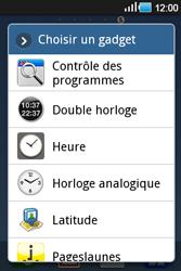 Samsung Galaxy Ace - Applications - Personnaliser l