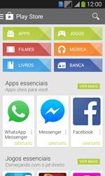 Samsung SM-G3502T Galaxy Core Plus Duo TV - Aplicativos - Como baixar aplicativos - Etapa 4