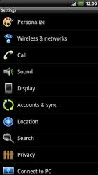 HTC X515m EVO 3D - Internet - Manual configuration - Step 4