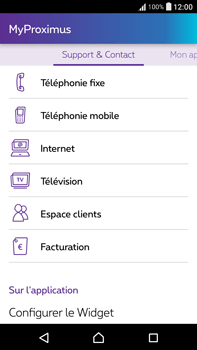 Sony F3211 Xperia XA Ultra - Applications - MyProximus - Étape 20