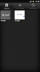 Sony LT26i Xperia S - Internet - navigation sur Internet - Étape 11