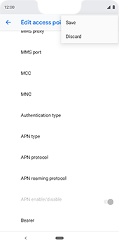 Google Pixel 3XL - Internet - Manual configuration - Step 17