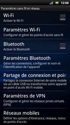 Sony Ericsson Xpéria Arc - Aller plus loin - Désactiver les données à l'étranger - Étape 4