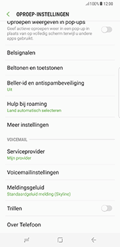Samsung Galaxy S8 Plus - Voicemail - handmatig instellen - Stap 7