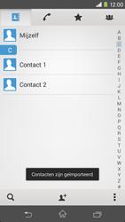 Sony Xperia M2 4G (D2303) - Contacten en data - Contacten kopiëren van SIM naar toestel - Stap 7