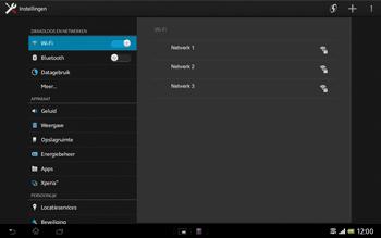 Sony SGP321 Xperia Tablet Z LTE - Wifi - handmatig instellen - Stap 5
